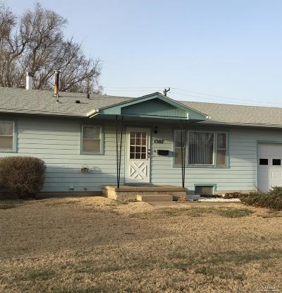 Salina KS Single Family Home Under Contract: $110,000