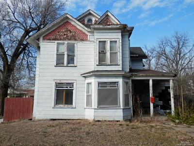 Salina KS Single Family Home For Sale: $14,500