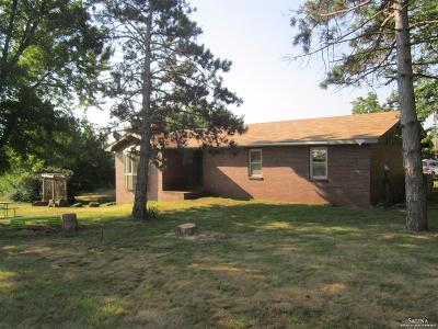 Salina Single Family Home Under Contract: 2854 East Shipton Road