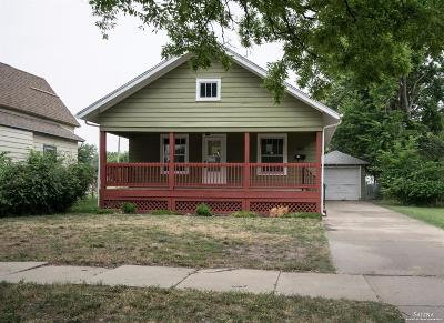 Salina Single Family Home Under Contract: 207 Des Moines Avenue