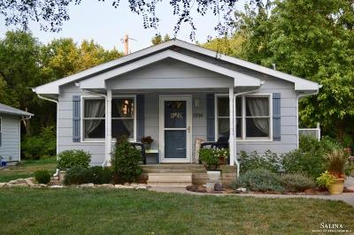 Salina Single Family Home Under Contract: 1336 North 3 Rd Street