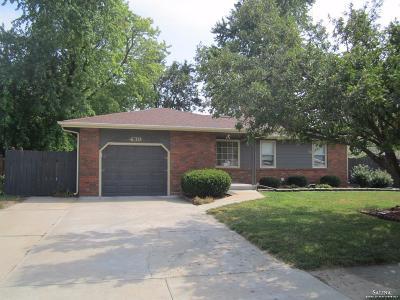 Salina KS Single Family Home For Sale: $140,000