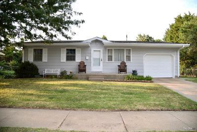 Salina KS Single Family Home Under Contract: $104,900