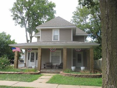 Minneapolis KS Single Family Home For Sale: $95,000