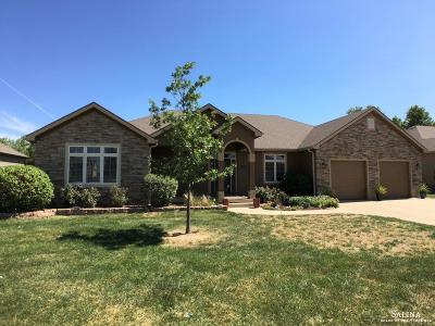 Salina Single Family Home For Sale: 1519 Briargate Drive