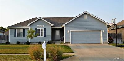 Salina Single Family Home For Sale: 89 Wildcat Circle