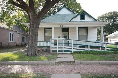 Salina KS Single Family Home For Sale: $57,000