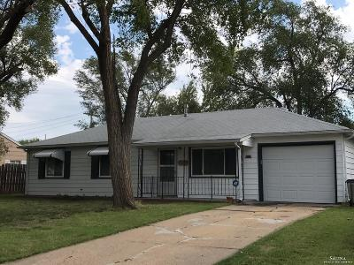 Salina KS Single Family Home For Sale: $77,500