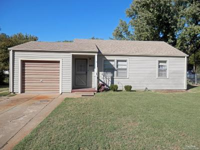Salina KS Single Family Home For Sale: $85,000
