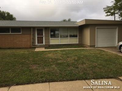 Salina KS Single Family Home For Sale: $40,000