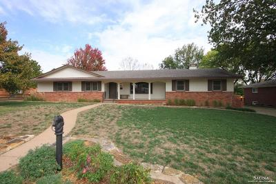 Salina Single Family Home For Sale: 435 Claremont Drive