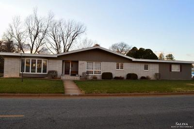Salina Single Family Home For Sale: 2056 Quincy Street