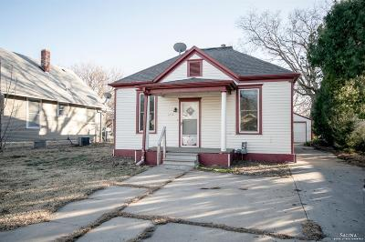 Salina Single Family Home For Sale: 1218 East Iron Avenue