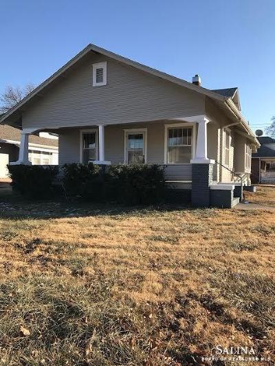Salina Single Family Home For Sale: 1200 East Iron Street