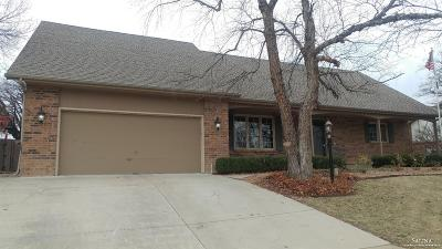 Salina Single Family Home For Sale: 112 North Estates Drive