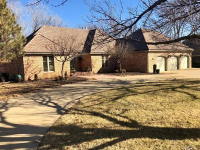 Salina Single Family Home For Sale: 747 Victoria Heights Terrace