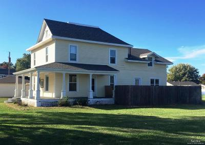 Bennington KS Single Family Home For Sale: $129,900