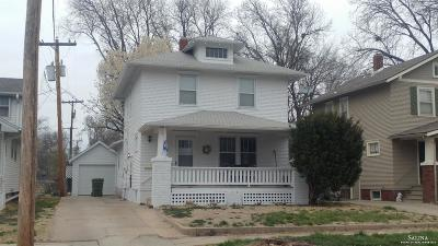 Salina Single Family Home For Sale: 216 West Wilson Street