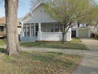 Salina Single Family Home Under Contract: 618 West Elm Street