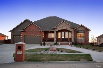Salina Single Family Home For Sale: 2312 Sunset Ridge Drive