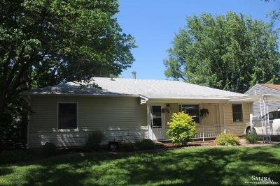 Salina KS Single Family Home For Sale: $90,000
