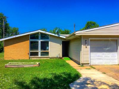 Salina KS Single Family Home For Sale: $45,000