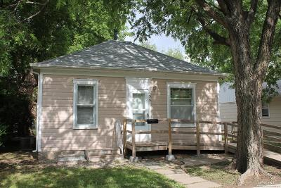 Salina KS Single Family Home For Sale: $61,900