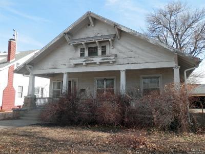 Salina KS Single Family Home For Sale: $49,900