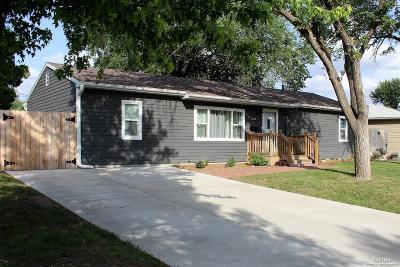 Salina Single Family Home Under Contract: 1525 Hickory Street