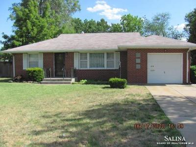 Salina Single Family Home For Sale: 838 Russell Avenue
