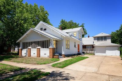 Salina KS Single Family Home Under Contract: $71,900