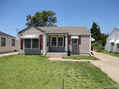 Salina KS Single Family Home For Sale: $105,000