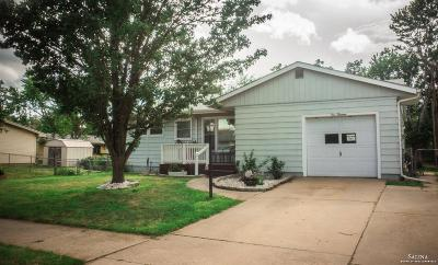 Salina Single Family Home Under Contract: 113 Bel Air Drive