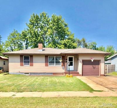 Salina Single Family Home For Sale: 1702 Beach Street