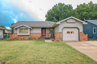 Salina KS Single Family Home For Sale: $154,900