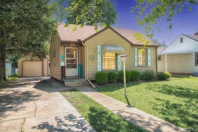 Salina KS Single Family Home Under Contract: $80,000