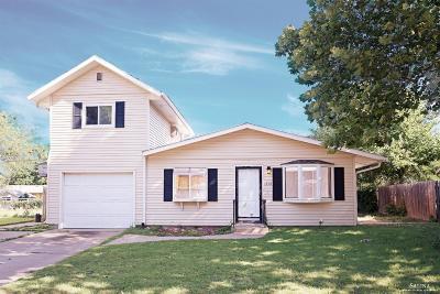 Salina KS Single Family Home Under Contract: $88,500