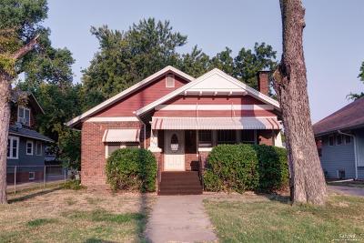 Salina KS Single Family Home Under Contract: $89,900
