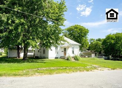 Minneapolis KS Single Family Home For Sale: $25,200