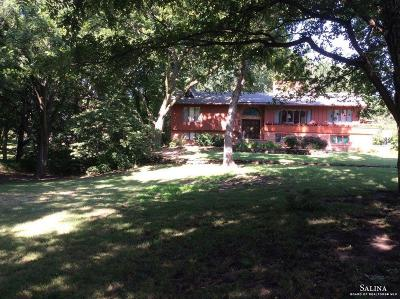 Salina Single Family Home For Sale: 950 South Marymount Road