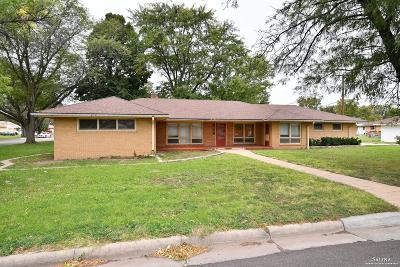 Salina Single Family Home Under Contract: 1518 Lewis Avenue