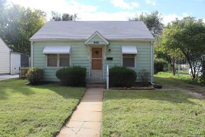 Salina Single Family Home Under Contract: 848 Merrill Street