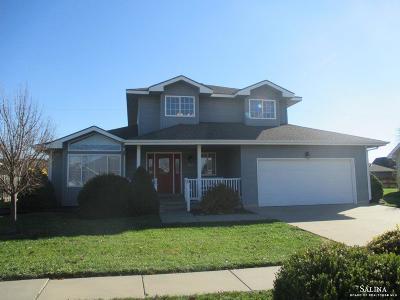 Salina Single Family Home For Sale: 2955 Tasker Lane