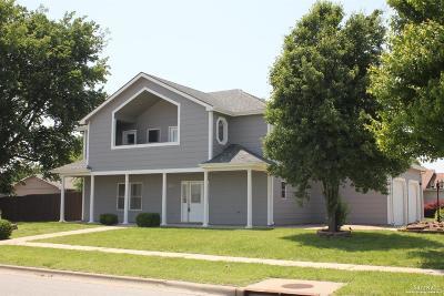 Salina Single Family Home For Sale: 1002 Courtney Drive