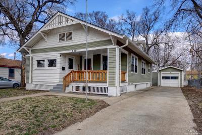 Salina Single Family Home Under Contract: 909 Hancock Street