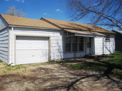 Salina Single Family Home Under Contract: 1524 West Crawford Street