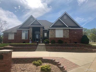 Salina Single Family Home For Sale: 1260 Columbine Lane