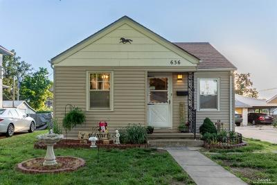 Salina Single Family Home For Sale: 636 South 5th Street