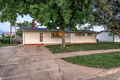 Salina Single Family Home Under Contract: 126 Bel Air Drive