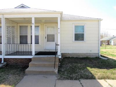 Salina Multi Family Home For Sale: 412 East Kirwin Avenue